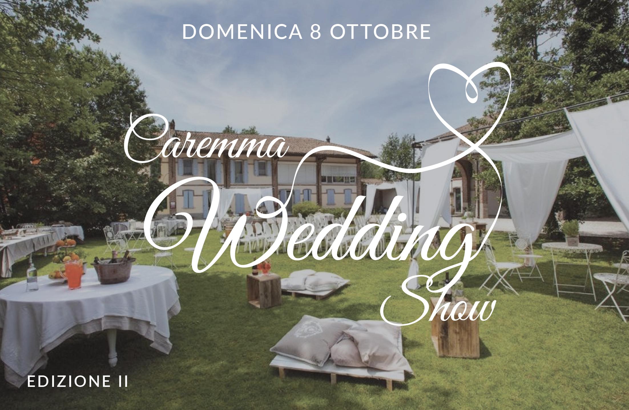 Cascina Caremma Wedding Show 8ottobre